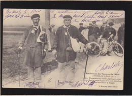 Troyes En Champagne, Manifestations Vignerons 1911, Deux Vignerons Septuagénaires De Riceys - Troyes
