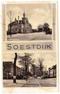 Soestdijk - Gemeentehuis En Van Weedestraat - Soestdijk
