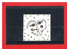 FRANCE - 2008 -  ADHESIF** - N°148 Ou N°4130  - Saint VALENTIN - COEUR FRANCK SORBIER - Y & T - COTE 5.00 € - Sellos Autoadhesivos