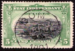 Congo 0016 (o) D15    Tanding 15 Dentelé 15 ! - 1894-1923 Mols: Used