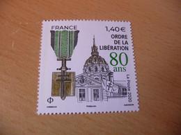 TIMBRE  DE  FRANCE   ANNÉE  2020  ORDRE  DE  LA  LIBERATION    NEUF  SANS  CHARNIÈRE - Unused Stamps