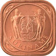 Monnaie, Surinam, 5 Cents, 1988, SPL, Copper Plated Steel, KM:12.1b - Surinam 1975 - ...
