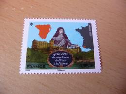 TIMBRE  DE  FRANCE   ANNÉE  2020  400 ANS DU RATACHEMENT DU BEARN A LA FRANCE    NEUF  SANS  CHARNIÈRE - Unused Stamps