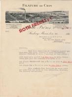 Lettre Illustrée 30/5/1933 ROTH Frères Filature De Crin STRASBOURG Bas Rhin - 1900 – 1949