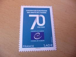 TIMBRE  DE  FRANCE   ANNÉE  2020  C.E  DES  DROITS  DE  L'HOMME    NEUF  SANS  CHARNIÈRE - Unused Stamps