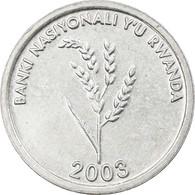 Monnaie, Rwanda, Franc, 2003, TTB+, Aluminium, KM:22 - Rwanda