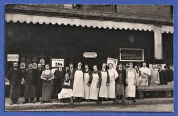CARTE PHOTO à Situer - EPICERIE - Exposition De Printemps - Ensemble Du Personnel - Geschäfte