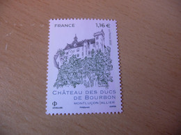 TIMBRE  DE  FRANCE   ANNÉE  2020   CHATEAUX DES DUCS DE BOURBON    NEUF  SANS  CHARNIÈRE - Unused Stamps