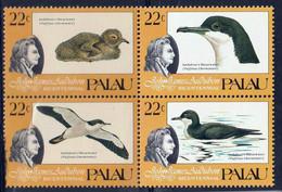 PALAU - Audubon, Oiseaux - Y&T N° 61-65 - MNH - Palau