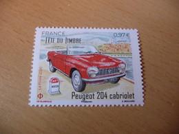 TIMBRES  DE  FRANCE   ANNÉE  2020   PEUGEOT  204  CABRIOLET    NEUFS  SANS  CHARNIÈRES - Unused Stamps