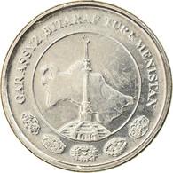 Monnaie, Turkmanistan, Tenge, 2009, SPL, Nickel Plated Steel, KM:95 - Turkmenistán