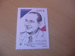 TIMBRE  DE  FRANCE   ANNÉE  2020   JACQUES  CHIRAC    NEUF  SANS  CHARNIÈRE - Unused Stamps