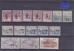 AUX ORPHELINS De GUERRE - Lot Varié De 15 Timbres Des Années 1917/1918 Et 1922 - Ungebraucht