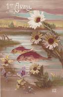 Fête - Voeux : 1er AVRIL : Poisson D' Avril : Poissons Et Fleurs  : Lux N° 288 : - 1 De April (pescado De Abril)