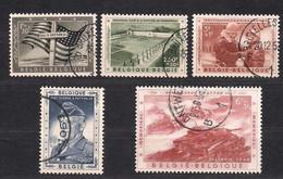 Belgie Belgique 1957 OCBn° 1032-1036 (°) Oblitéré Used Cote 18,00 Euro Mémorial Général Patton - Used Stamps