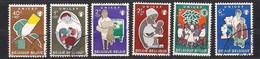 Belgie Belgique 1960 OCBn° 1153-1158 (°) Oblitéré Used Cote 8,00 Euro Unicef - Used Stamps