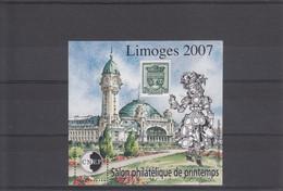 2 BLOCS CNEP 2007/2009 LIMOGES  PARIS NEUFS XX - CNEP