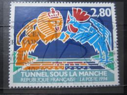 """VEND BEAU TIMBRE DE FRANCE N° 2880 , OBLITERATION """" ST-BRIEUC """" !!! - Oblitérés"""