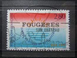 """VEND BEAU TIMBRE DE FRANCE N° 2884 , OBLITERATION """" FOUGERES """" !!! - Oblitérés"""