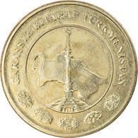 Monnaie, Turkmanistan, 50 Tenge, 2009, TTB, Laiton, KM:100 - Turkmenistan