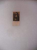 Ancienne Publicité Carte Paquet De Cigarette W. D & HO WILLS - Illustrée Art Photogravures MONA LISA  Leonardo De Vinci - Other
