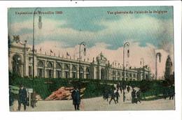 CPA Carte Postale-Belgique-Bruxelles Exposition De 1910- Vue Générale Du Palais De La Belgique  VM24689c - Mostre Universali