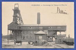 CPA BELGIQUE - CHARLEROI - Charbonnage De L'Avenue De Waterloo - Charleroi