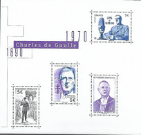 France 2020 - Le Bloc - Général De Gaulle ** - Unused Stamps