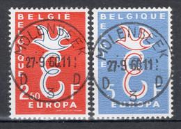 BELGIE: COB 1064/1065 Zeer Mooi Gestempeld. - Oblitérés
