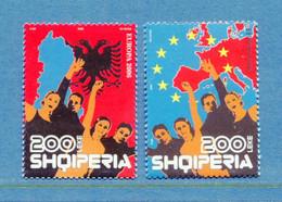 ⭐ Albanie - Europa - YT N° 2832 Et 2833 ** - Neuf Sans Charnière - 2006 ⭐ - 2006
