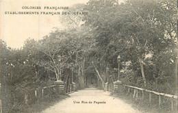 Une Rue De PAPEETE - Französisch-Polynesien