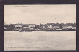 CPA Surinam Arrivée Du Courrier à ALBINIA Circulé Guyane Hollandaise - Surinam