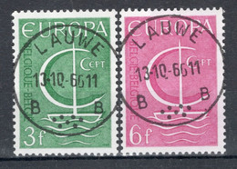 BELGIE: COB 1389/1390 Zeer Mooi Gestempeld. - Oblitérés