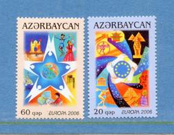 ⭐ Azerbaidjan - Europa - YT N° 538 Et 539 ** - Neuf Sans Charnière - 2006 ⭐ - 2006