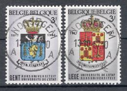 BELGIE: COB 1433/1434 Zeer Mooi Gestempeld. - Oblitérés