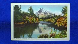Mt. Rundle Altitude 9665 Ft. Banff National Park Canada - Banff