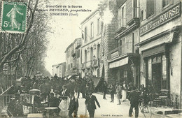 30 GARD SOMMIERES CAFE REYNAUD ANIMATION 1908 A VOIR - Sommières