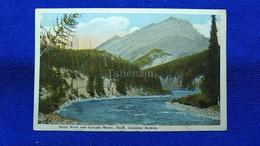 Spray River And Cascade Mount Banff, Canadian Rockies Canada - Banff