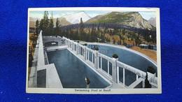 Swimming Pool At Banff Canada - Banff