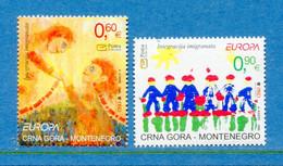 ⭐ Monténégro - Europa - YT N° 136 Et 137 ** - Neuf Sans Charnière - 2006 ⭐ - 2006