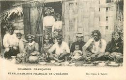 TAHITI Un Repas - Tahiti