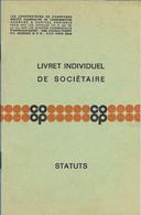 COOPERATEURS DE CHAMPAGNE  LIVRET INDIVIDUEL - Other