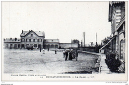 93 - EPINAY-sur-SEINE - La Gare - Autres Communes
