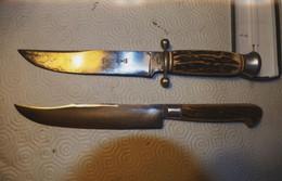 2 Couteaux SABATIER Anciens - Knives/Swords