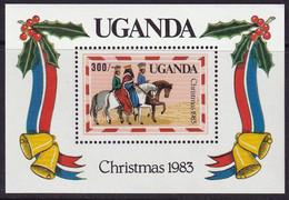 OUGANDA - Noël, Rois Mages - MNH - 1983 - Ouganda (1962-...)