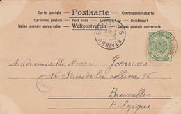 Woluwe St Lambert 12 Aout 1902 - 1893-1907 Wappen