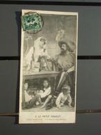 Cpa Le Petit Poucet L'Ogre Renifle Et Dit - Je Sens La Chair Fraîche ! 1908 - Fairy Tales, Popular Stories & Legends
