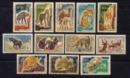 MAURITANIE - 165/176*/** - FAUNE - Mauritania (1960-...)