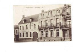 Cpa - 59 - Solesmes - Hotel Des P.T.T - N°17 Edit Paris Portraits - 1939 - Solesmes