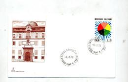Lettre  Cachet Castel Gandolfo  Residence Pape - Machine Stamps (ATM)